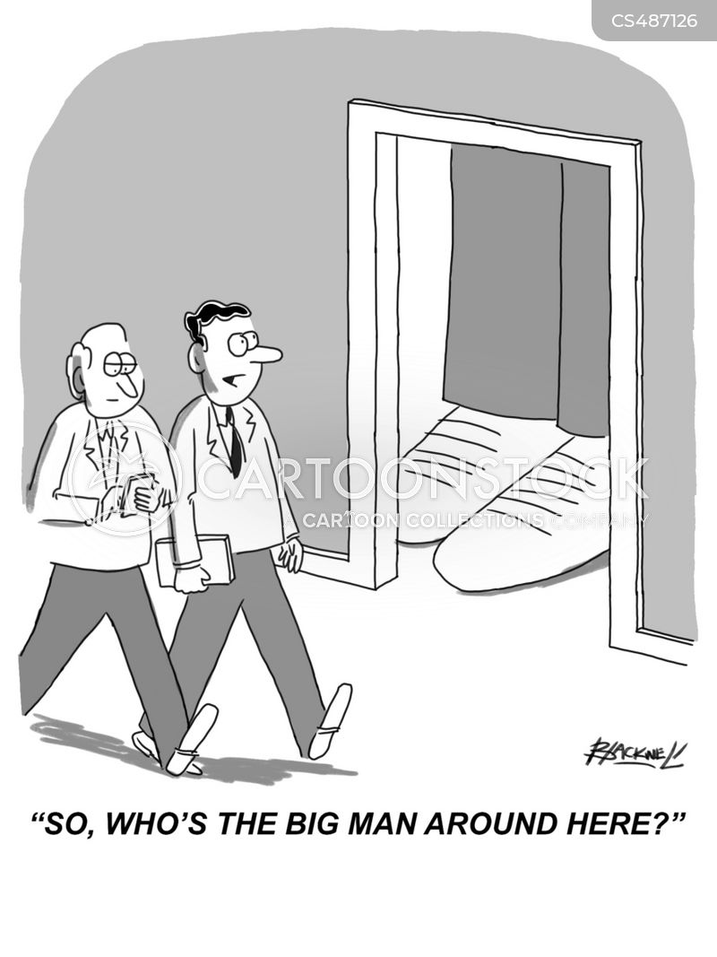 big men cartoon