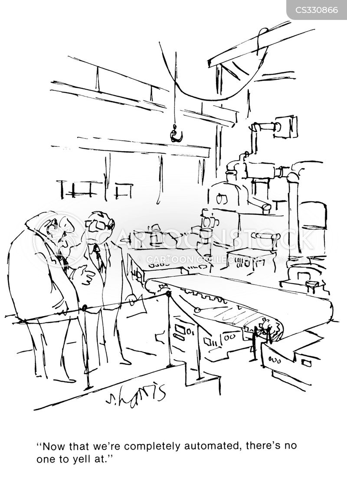 advanced technology cartoon