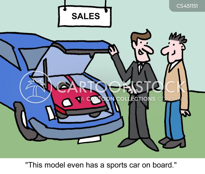 sports model cartoon