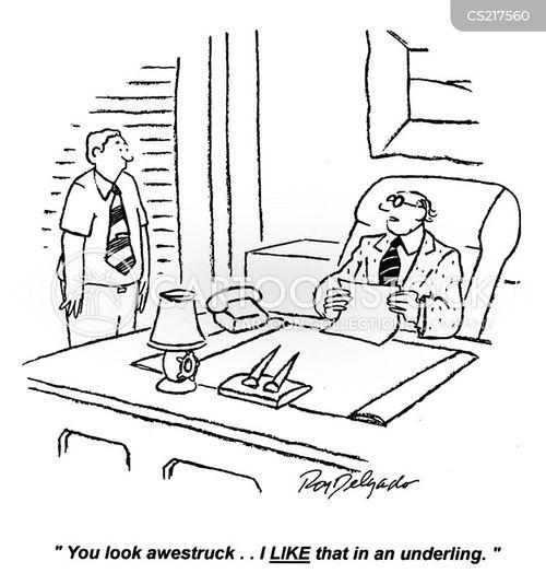 patronized cartoon