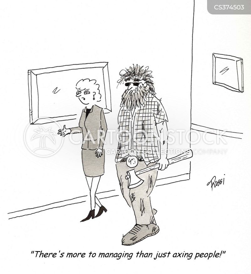 axing cartoon