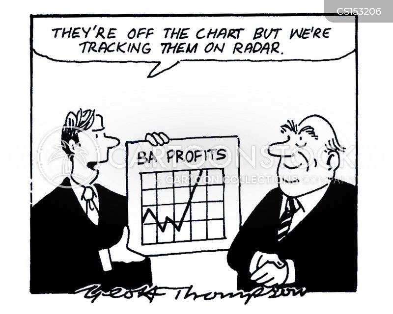 large profits cartoon