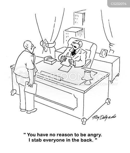 equal treatment cartoon