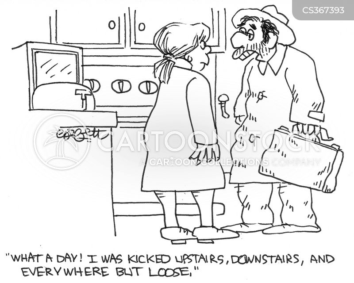 tough day cartoon