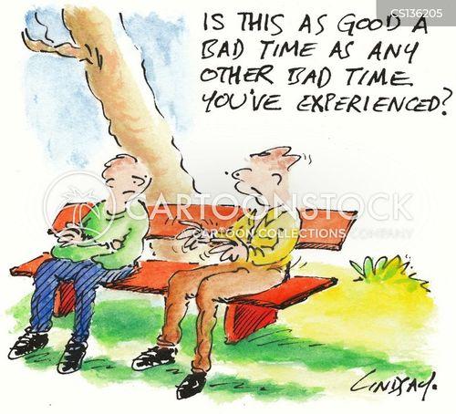 bad times cartoon