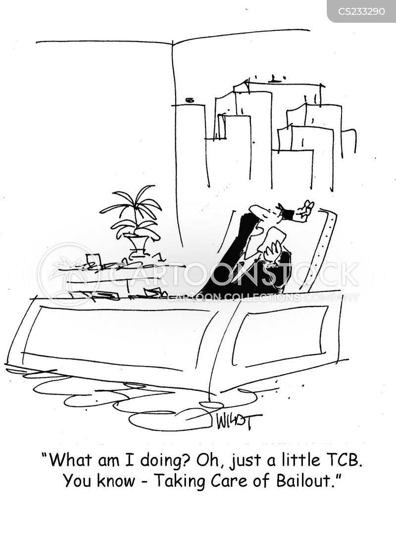 taking care of business cartoon