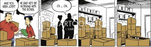 hiding out cartoon