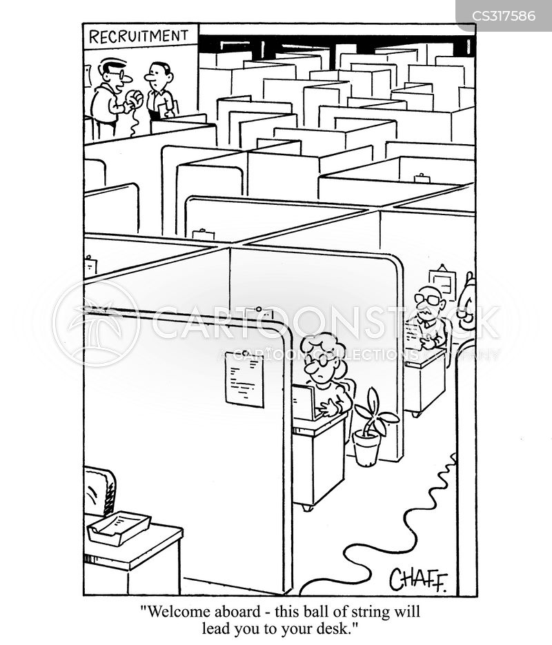 new offices cartoon