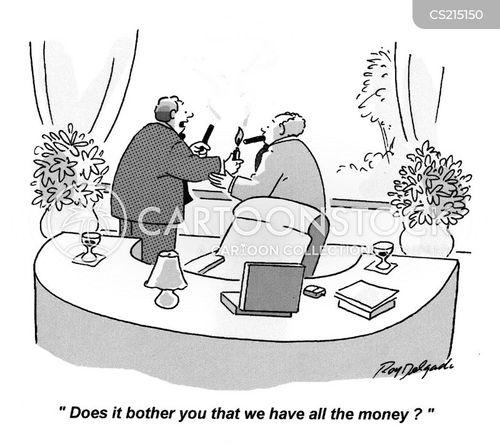 bankers bonus cartoon