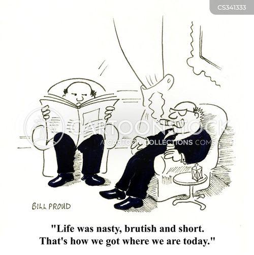 brutish cartoon