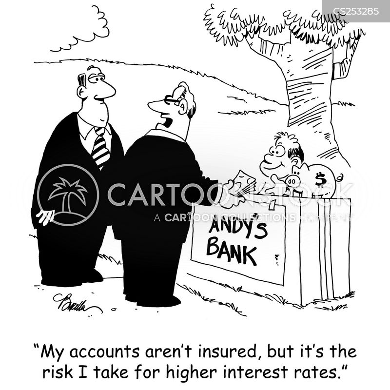 earning interest cartoon
