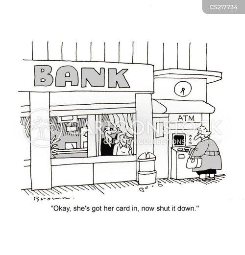 transactions cartoon