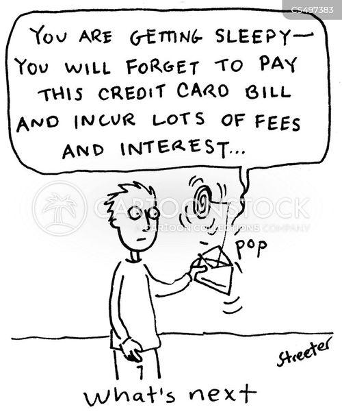 overdraft fee cartoon