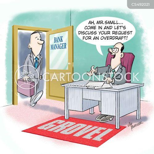 grovelled cartoon