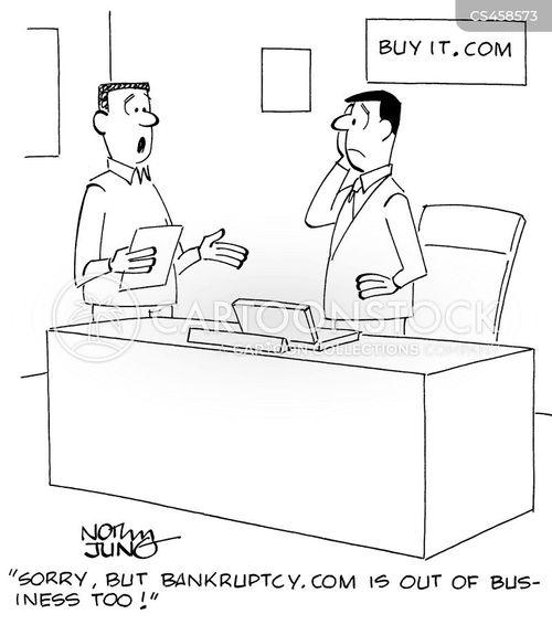 online businesses cartoon