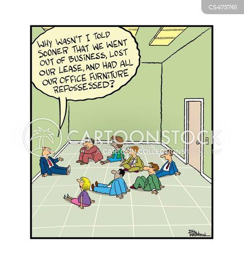 bankrupting cartoon