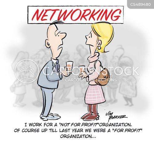 non-profit organization cartoon