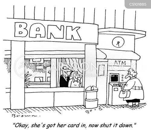 cashpoint cartoon