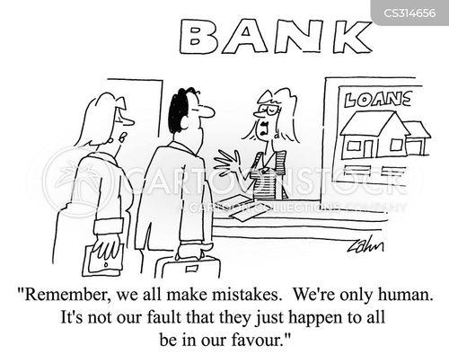 human error cartoon