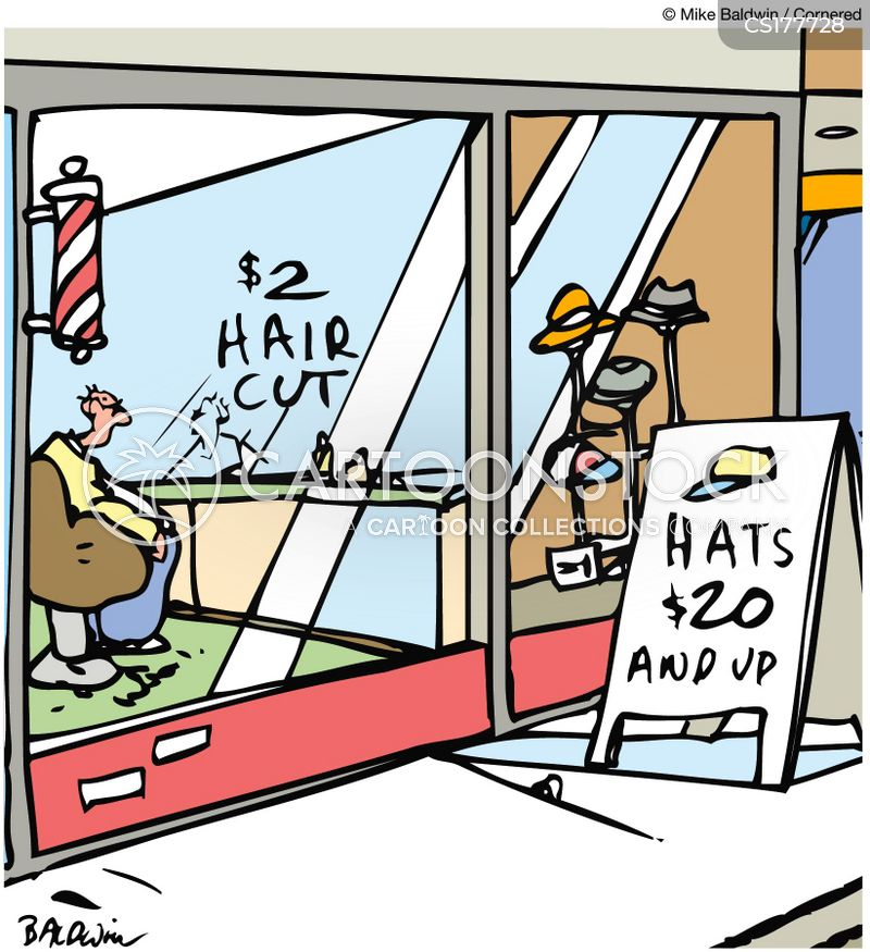 barbershops cartoon
