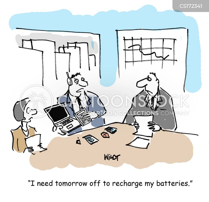 recharged cartoon