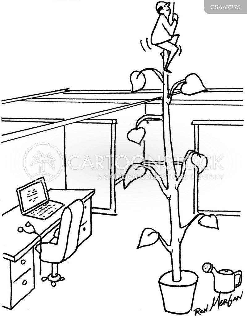 bean stalk cartoon