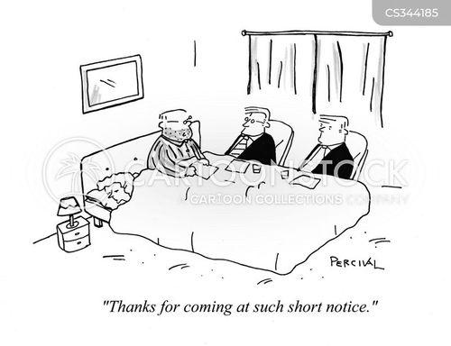 emergency meetings cartoon