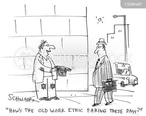 pan-handler cartoon