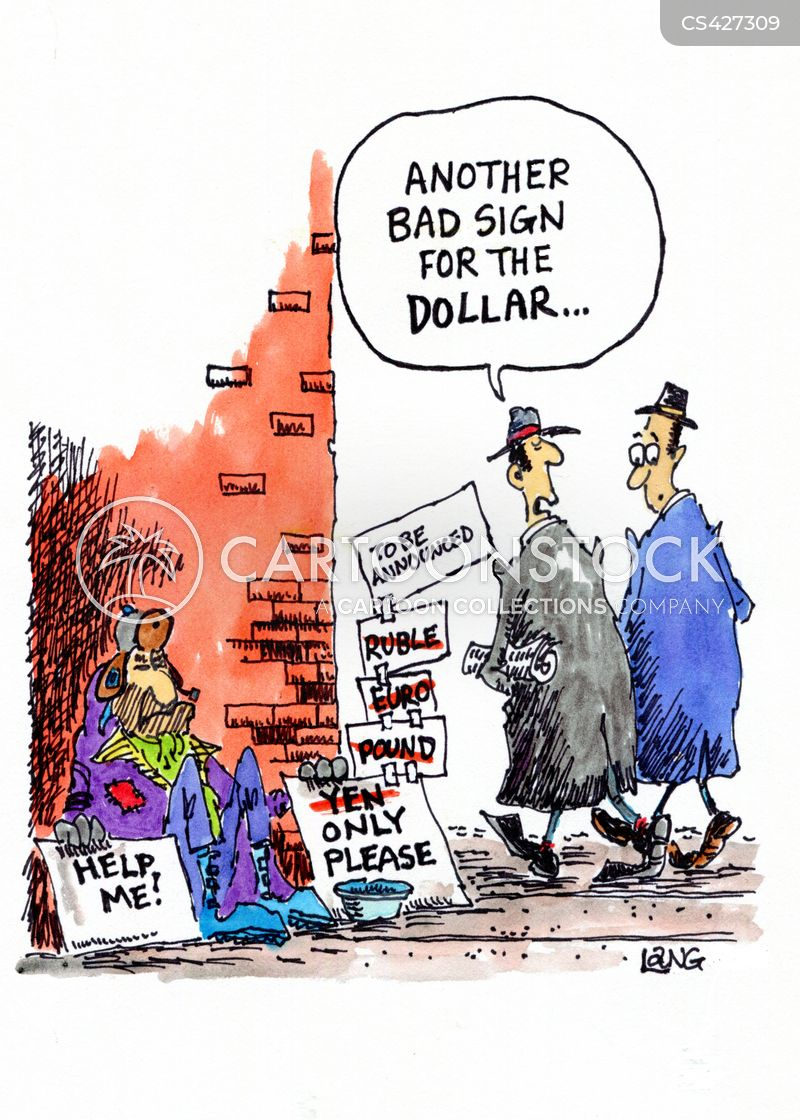 Currency Exchange Cartoons And Comics Funny Pictures