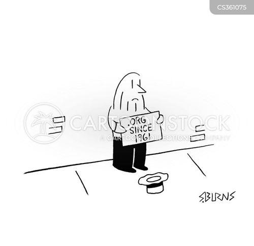 nonprofit cartoon