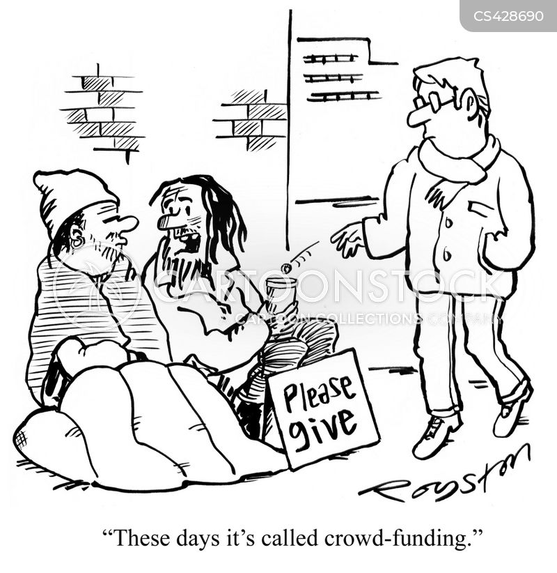 fund-raise cartoon