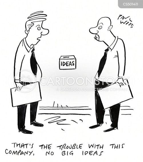 big thinkers cartoon