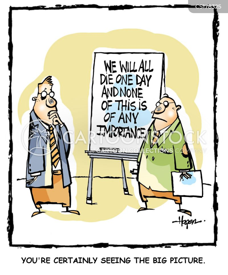 flip charts cartoon