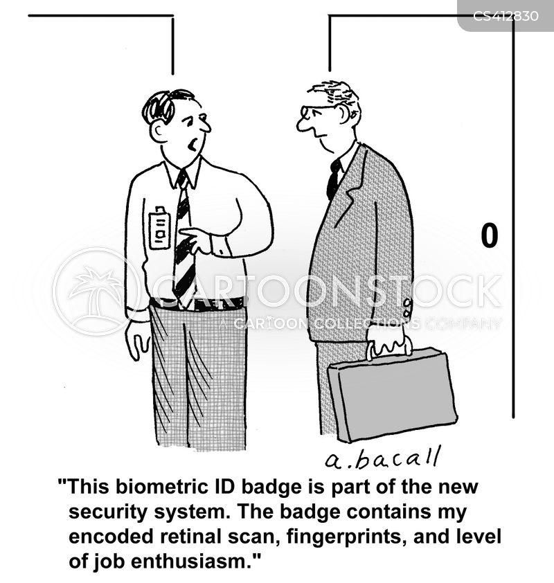 fingerprint cartoon