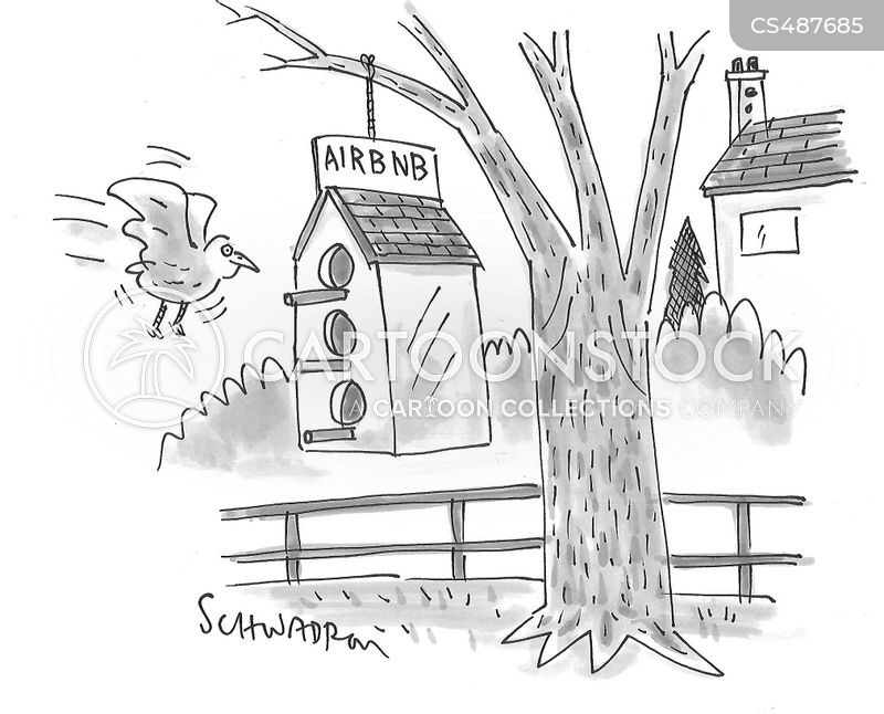 lodging cartoon
