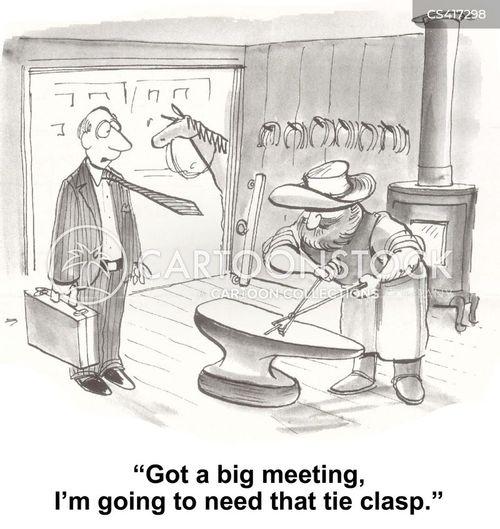 blacksmith cartoon