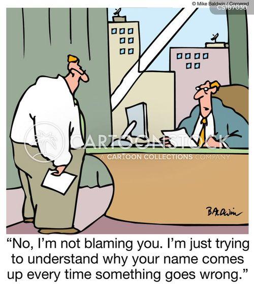 accountable cartoon