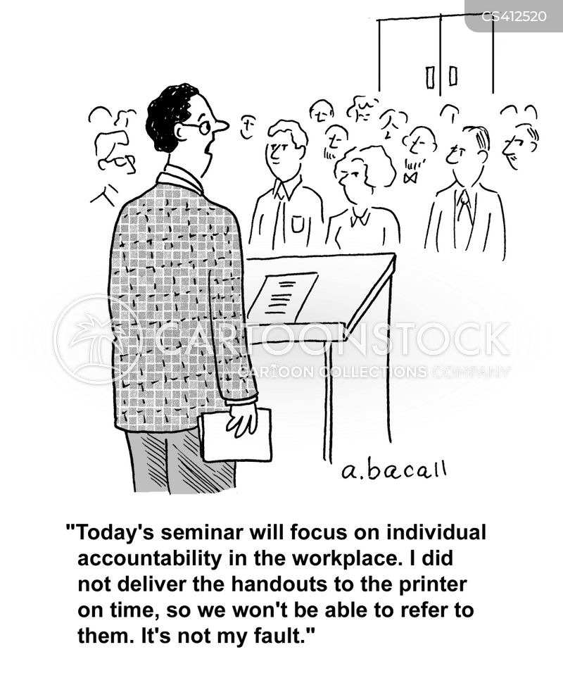 taking responsibility cartoon