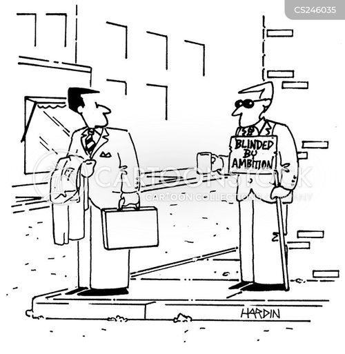 blind men cartoon