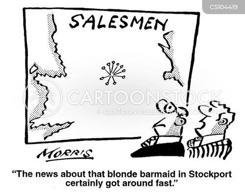 sales reps cartoon