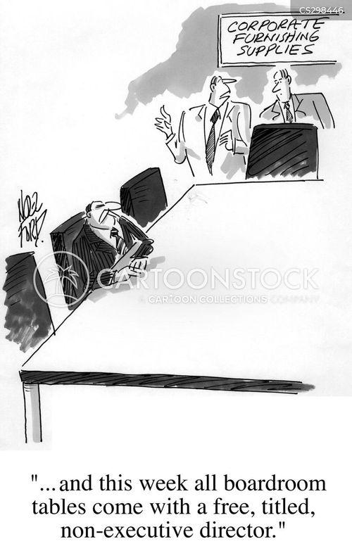 non-executive director cartoon