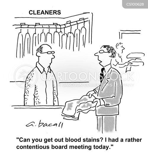 blood shed cartoon