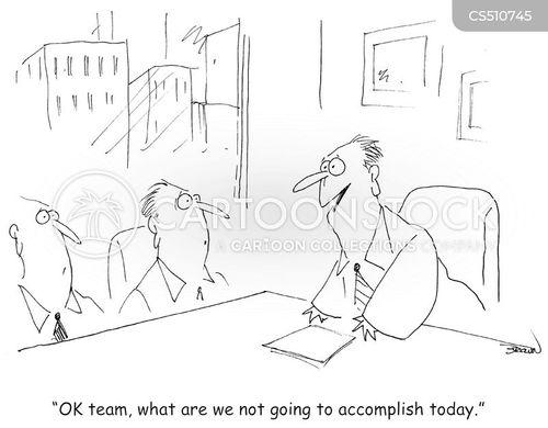 team meetings cartoon
