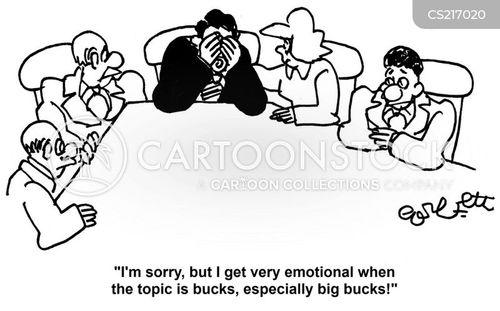 emotionally cartoon