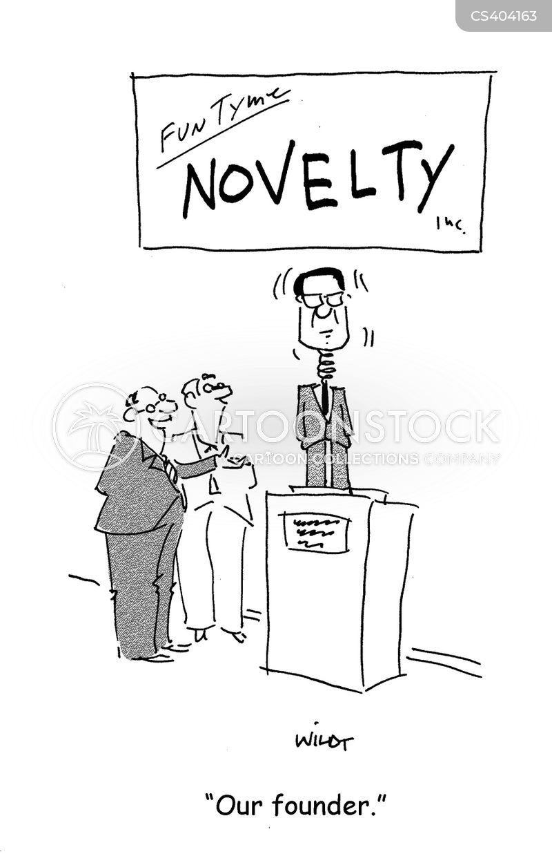 novelty item cartoon