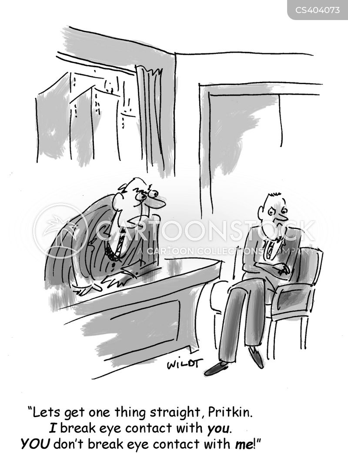 body languages cartoon