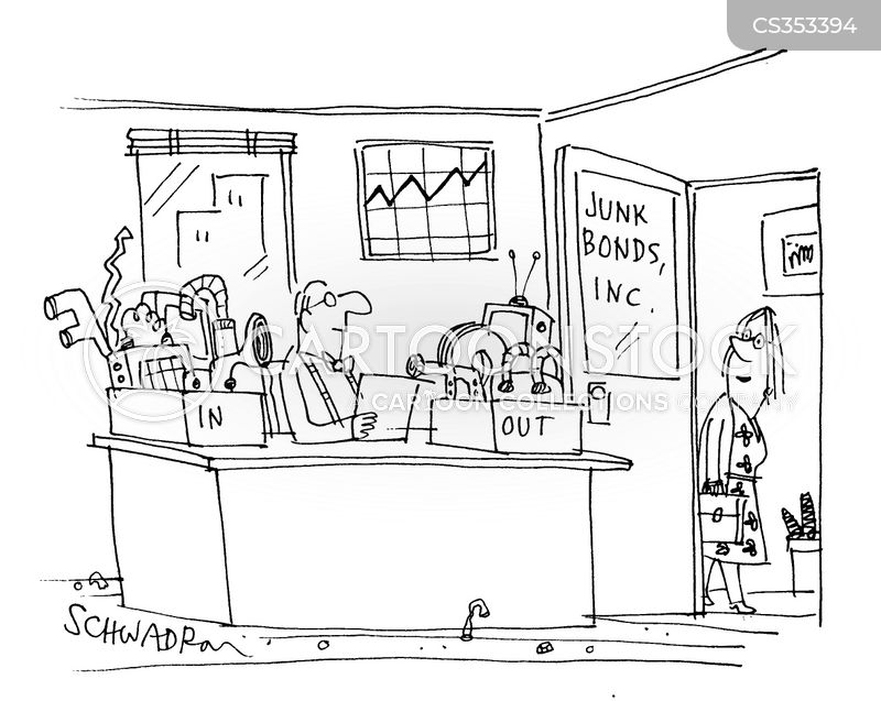 junk bond cartoon
