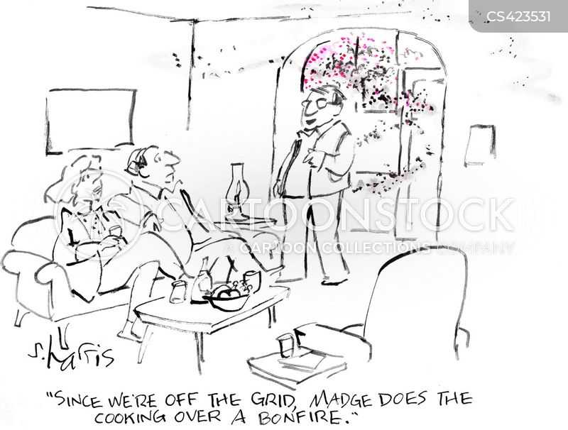 fire risks cartoon
