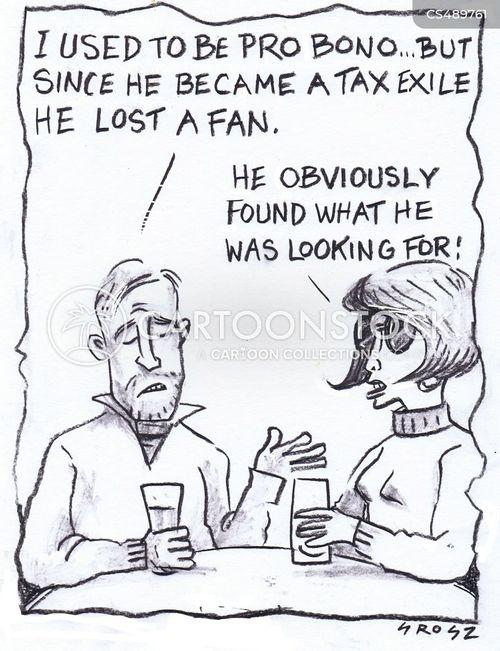 musical fans cartoon