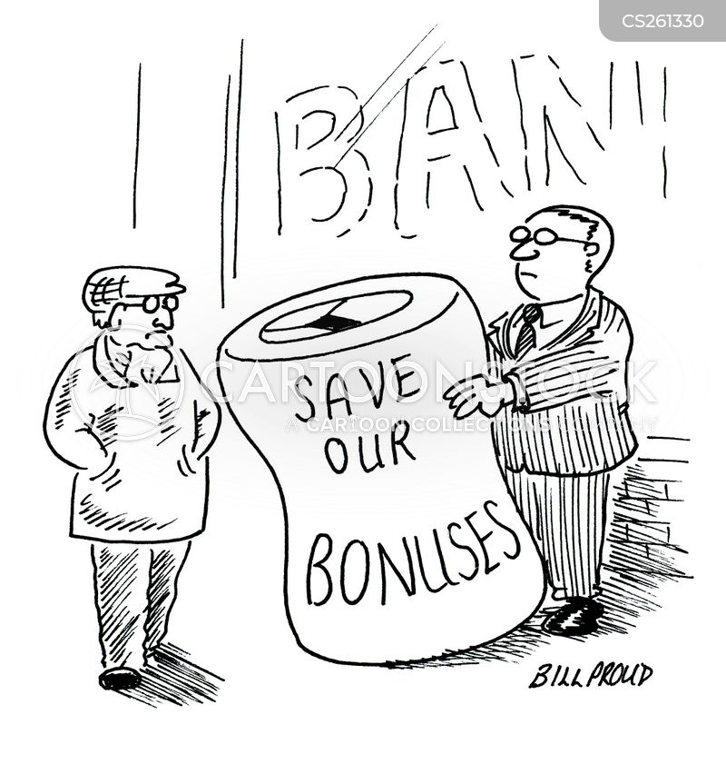 charity collections cartoon